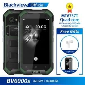 Blackview BV6000S IP68 Waterproof MT6737T Quad-core Android 7.0 2GB RAM 16GB ROM 4.7inch 8.0MP