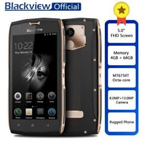 "Blackview BV7000 Pro Rugged Waterproof Octa-core 5.0"" FHD Smartphone 4GB+ 64GB Fingerprint Phone 13.0MP"