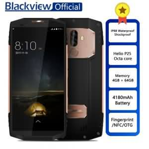 Blackview BV9000 Smartphone Helio P25 Octa Core 4GB+64GB 5.7inch IP68 Waterproof NFC 4G Cellphone